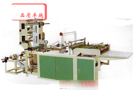 Disposable glove bag making machine
